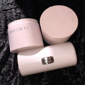 Jimmy Choo Sunglass Case in Canister White Case